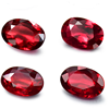 gemstone jewelry factory wholesale natural red ruby loose stone for making fine jewelry