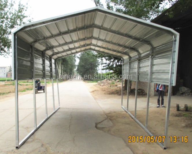Metal Car Shelter : Foldable car shelter steel buy outdoor