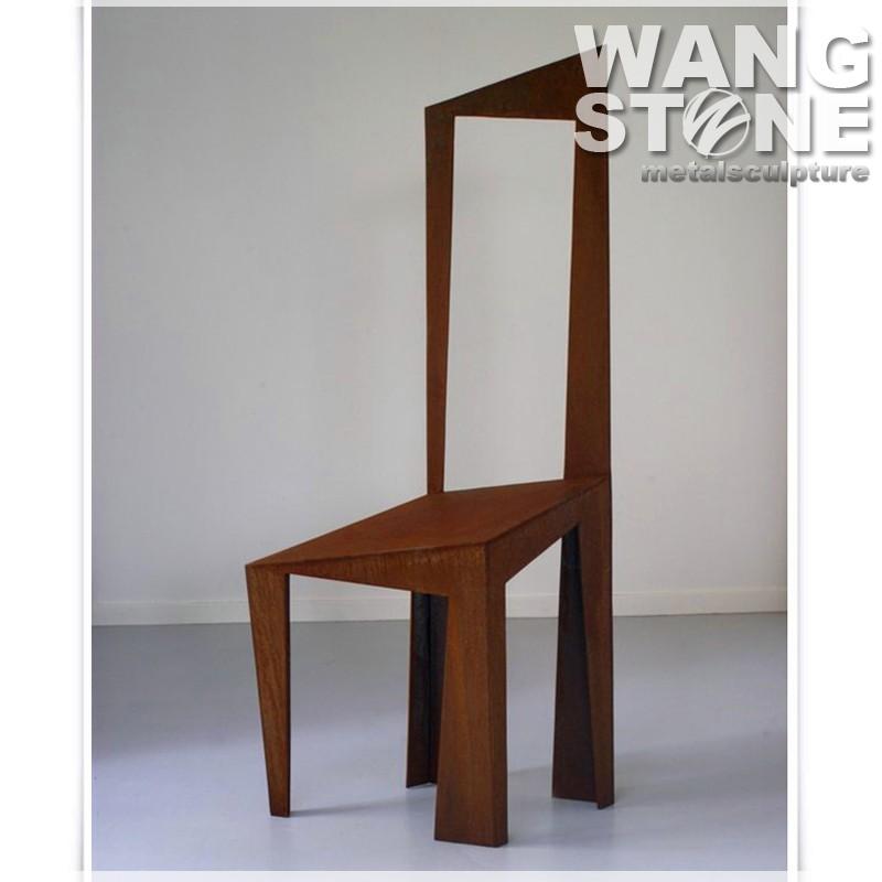 Special Design Corten Steel Home Decor Metal Chair Vintage Buy Metal Chair Vintage Home Decor