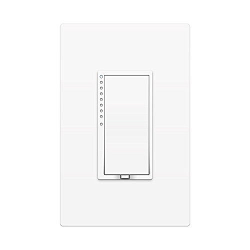 Insteon Smart Dimmer Wall Switch, Works with Alexa via Insteon Bridge, Uses Superior Dual-Mesh Wireless Technology for Unbeatable Reliability - Better than Wi-Fi, Zigbee and Z-Wave