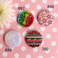 Colorful round pins and buttons badge button pin