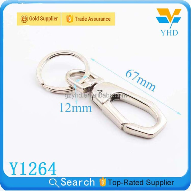 factory wholesale fashion decorative metal key chain