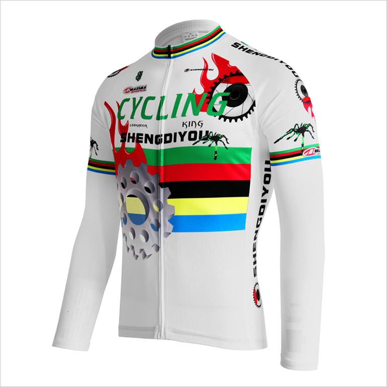 Лидер продаж, одежда для велоспорта с сублимационным принтом на заказ