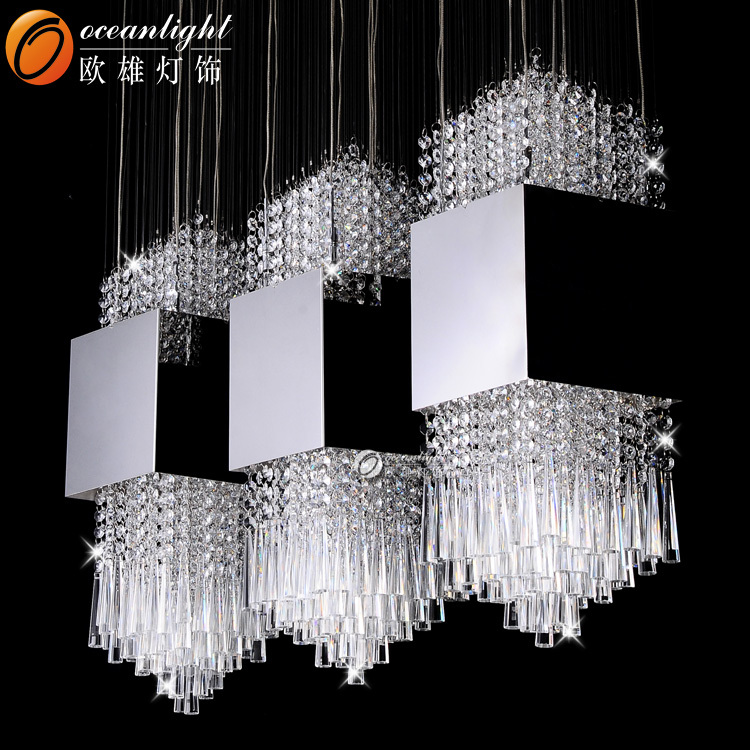 lights room pendant crystal ceiling chandelier control itm remote living s light