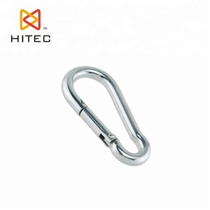 with no screw,stainless steel AISI304 or 316 DIN5299 stainless steel snap hook ,Caribine hook for sale Chinas