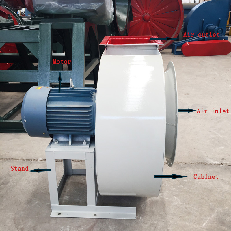 High quality clay sand kiln forced draft fan blower
