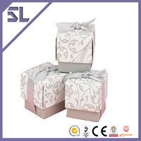 Elegant Swirl Pattern Wedding Favors And Gifts Box For Wedding