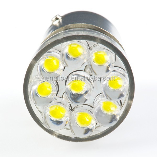1142 LED Bulb - Single Intensity Dual Contact 15 LED led bulb car