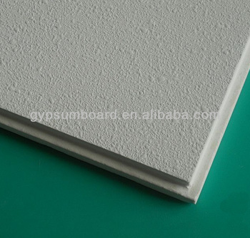 Decorative Gypsum Board / Fiberglass Acoustic Insulation Ceiling Tiles /  Interior Wall Panels