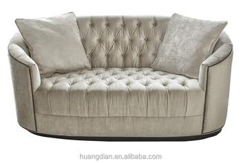 foshan muebles de diseño moderno barato 2 plazas chesterfield