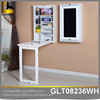 Home furniture wall mounted folding desk with blackboard