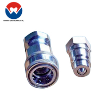 Pneumatic quick connect stainless steel plumbing joints and connections pipe connection with flexible hose