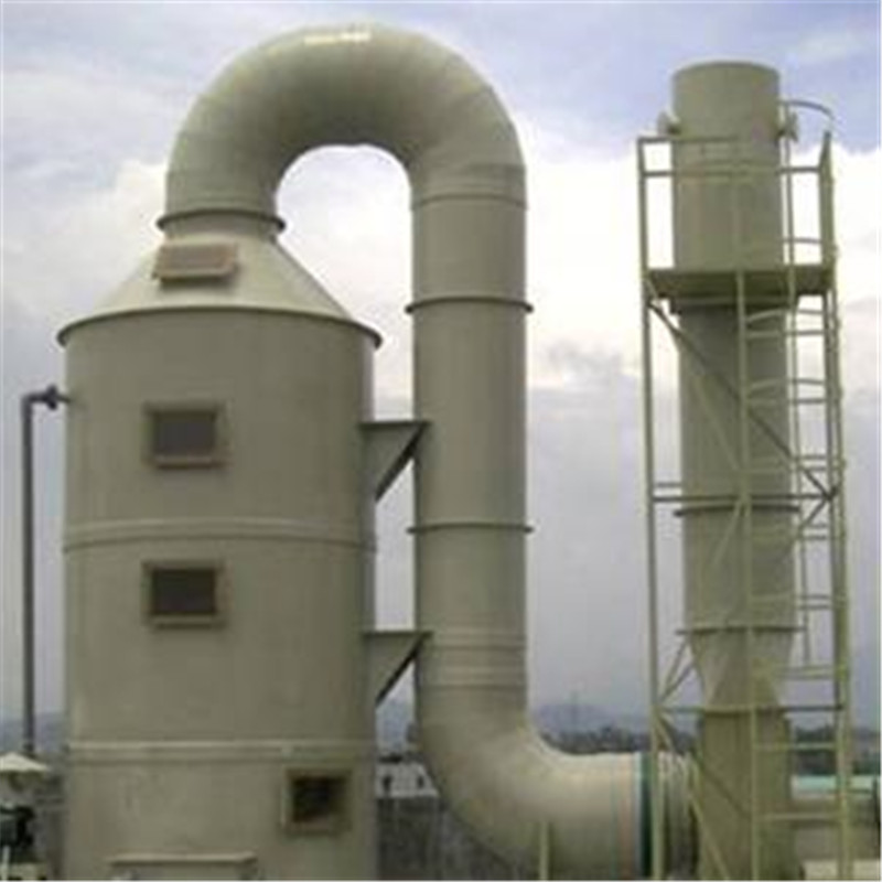 Vertical Packed Tower Fume Scrubber Wet Air Scrubbers
