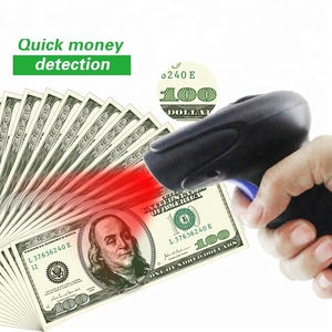 1D Barcode Scanner for POS System with Money detector Function Handheld Document Scanner Wired 1D USB Cable Bar Code Reader