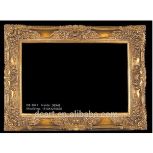 High quality vintage style wall resin picture frame wholesale