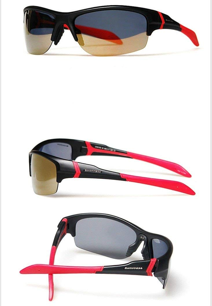 7699c897b0e Get Quotations ·  Choppers  5105 High NEW Polarized 1.1mm Mens Sunglasses  Brand Xline Sports (Red