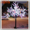 High quality fake outdoor led cherry blossom trees light artificial tree Christma factory price