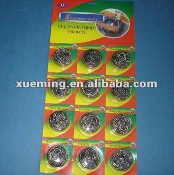 Stainless Steel Scourer Wire Sponge Scrubber Buy