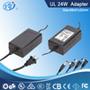24VDC 2.5A indoor ac adapter with CE GS certified