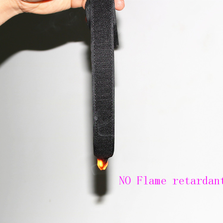 Good Quality 100% Nylon Functionality Flame retardant Hook And Loop strap