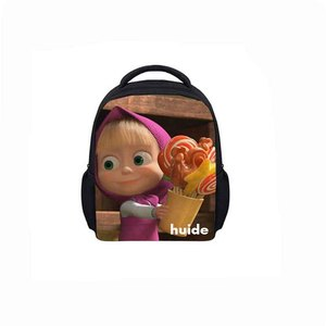 New Fashion 3D Zoo Animal Cats School Bags Custom Vintage Kids Backpack Back Pack Bag for Children