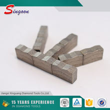 Segmented diamond blade tools used for mechanical workshop