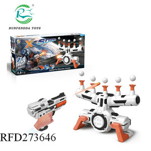 New design shooter suspension ball with music b o soft bullet gun