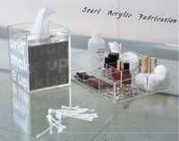 Practical Clear Acrylic Tissue Box ,Home decor,High Quality