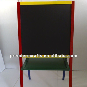 MDF school white chalk board, blackboard