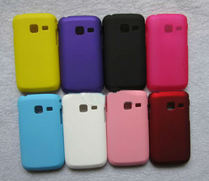 Rubber Hard Case Cover for Samsung Galaxy Y Duos S6102