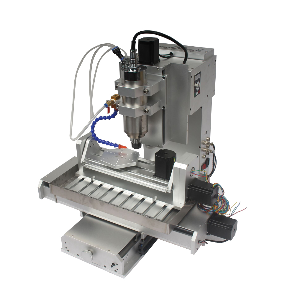 New Usb Connection Diy Mini 5 Axis Cnc Router Hy 3040 Engraving