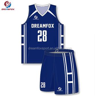 0c016c5bd5b custom sublimated navy blue basketball jerseys design girls blue basketball  uniforms