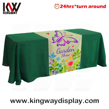 Gentil Sports Referee Table Cover Display Fair Booth Business Table Cloth Factory