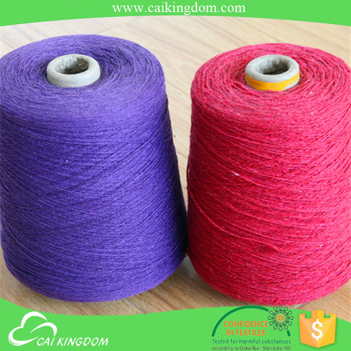 8s dyed open end hammock yarn suppliers from china