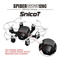 fashion appearance SnicoT 126C 2.4G 4CH 6Axis Gyro follow me drone with 2MP Camera