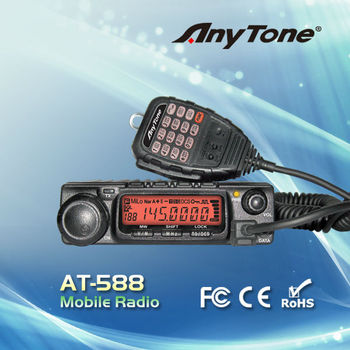 Anytone High Power At-588 Mobile Radio 66-88 136-174-400-490mhz - Buy  In-vehicle Radio,Mobile Powerful Cb Radio,Land Mobile Radio Product on