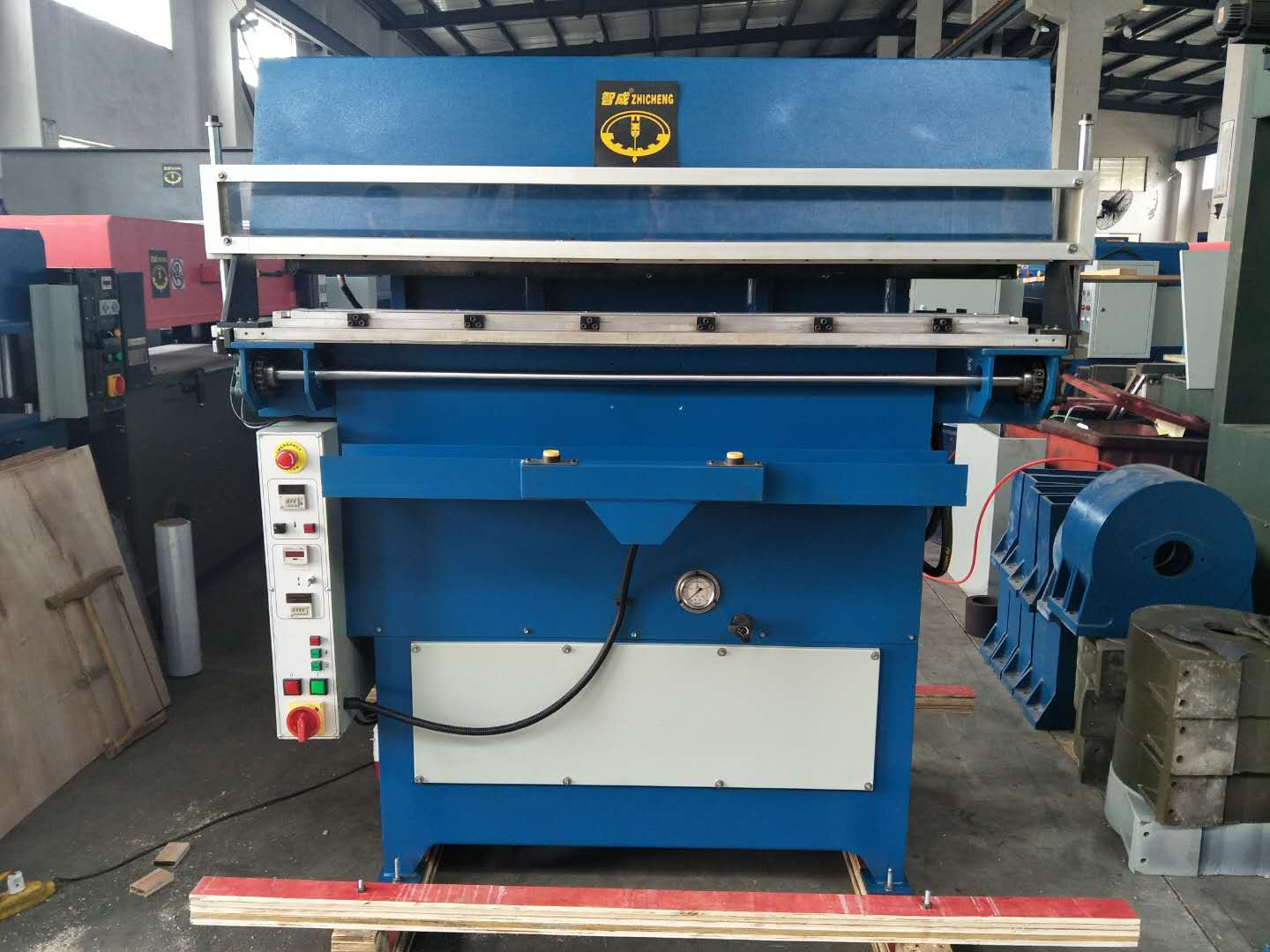 hydraulic leather belt embossing machine