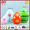 wholesale glass easter egg decoration with led