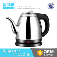 Factory price home appliances cute cordless electric kettle1.0l