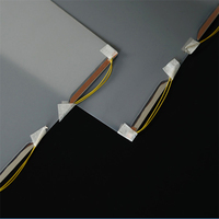 Electric control lcd window glass film