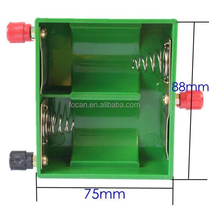 2XD battery holder for	physical test