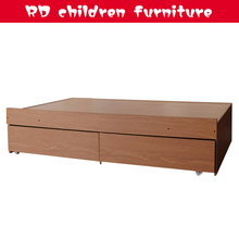 wholesale modern queen size wooden furniture bed design with box