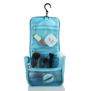 2019 New Fashion Travel Kit Organizer, Waterproof Polyester Fabric Hanging Travel Toiletry Bag