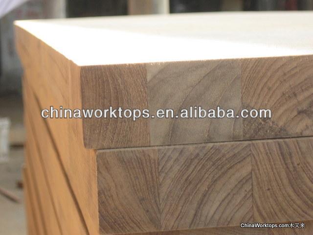 teca encimeras de madera maciza de mm de espesor x mm de madera