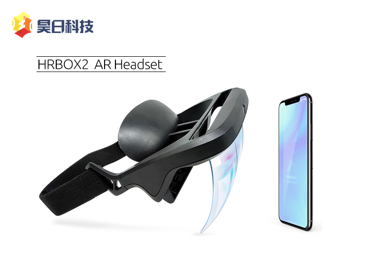 New Design Smart AR Glasses 3D Video Augmented Reality VR Glasses AR Headset for 3D Videos and Games
