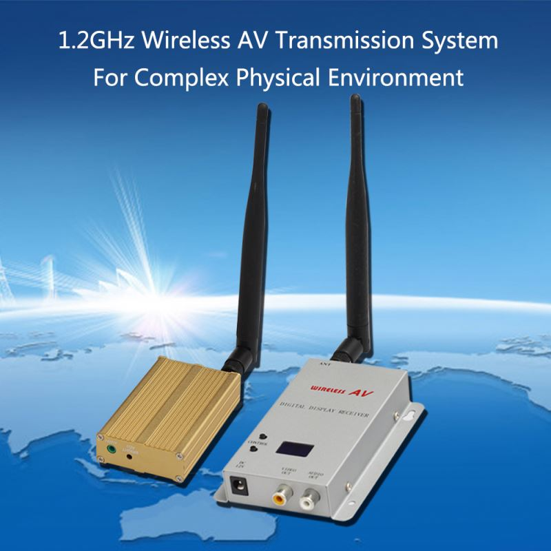 ptp 15 channels analog 1.2 ghz wireless video transmitter