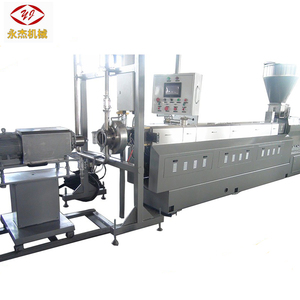 Co-rotating twin screw extruder underwater pelletizer for sale