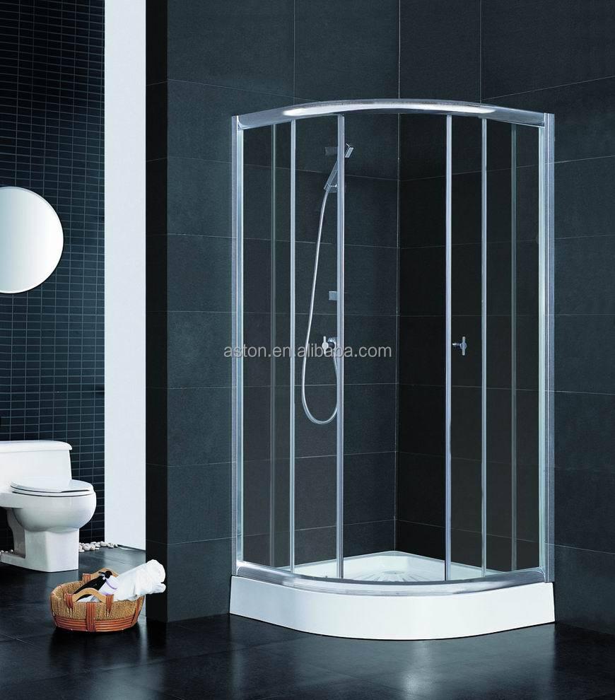 Plastic Shower Doors Sliding Photo Album - Woonv.com - Handle idea