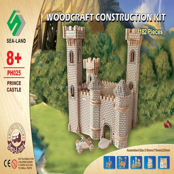 Wholesale 3d Puzzle Wooden Prince Castle Toy View 3d Puzzle Wooden Toy Sealand Product Details From Guangzhou Sea Land Toys Co Ltd On Alibabacom