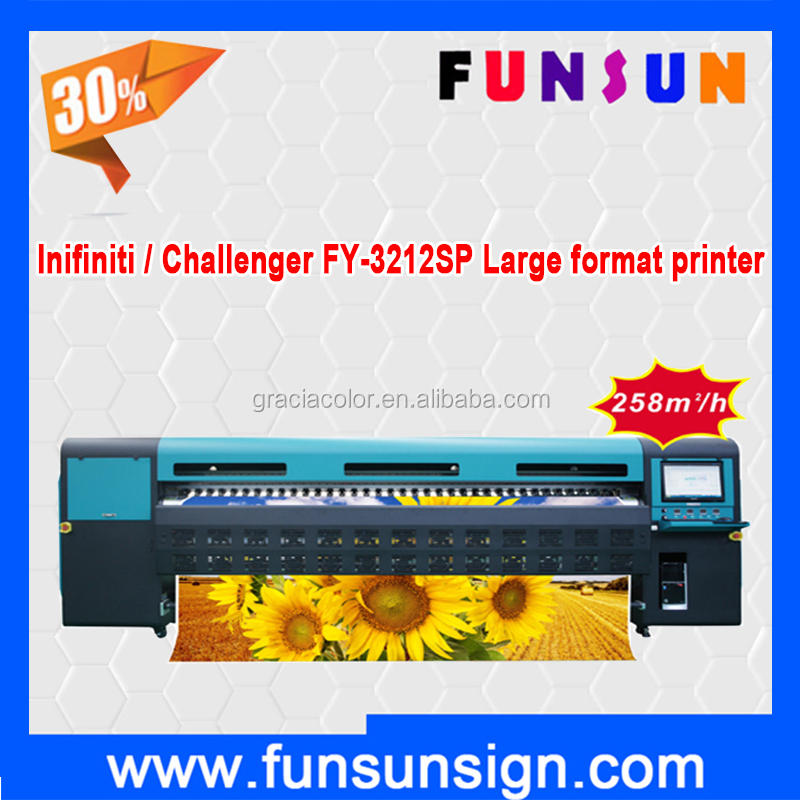Infiniti / Challenger FY-3212SP 3.2m wide format printer with 12 heads high speed